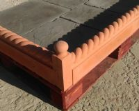 Full Rope Edging Terracotta Plus 2 Free End Posts (1)